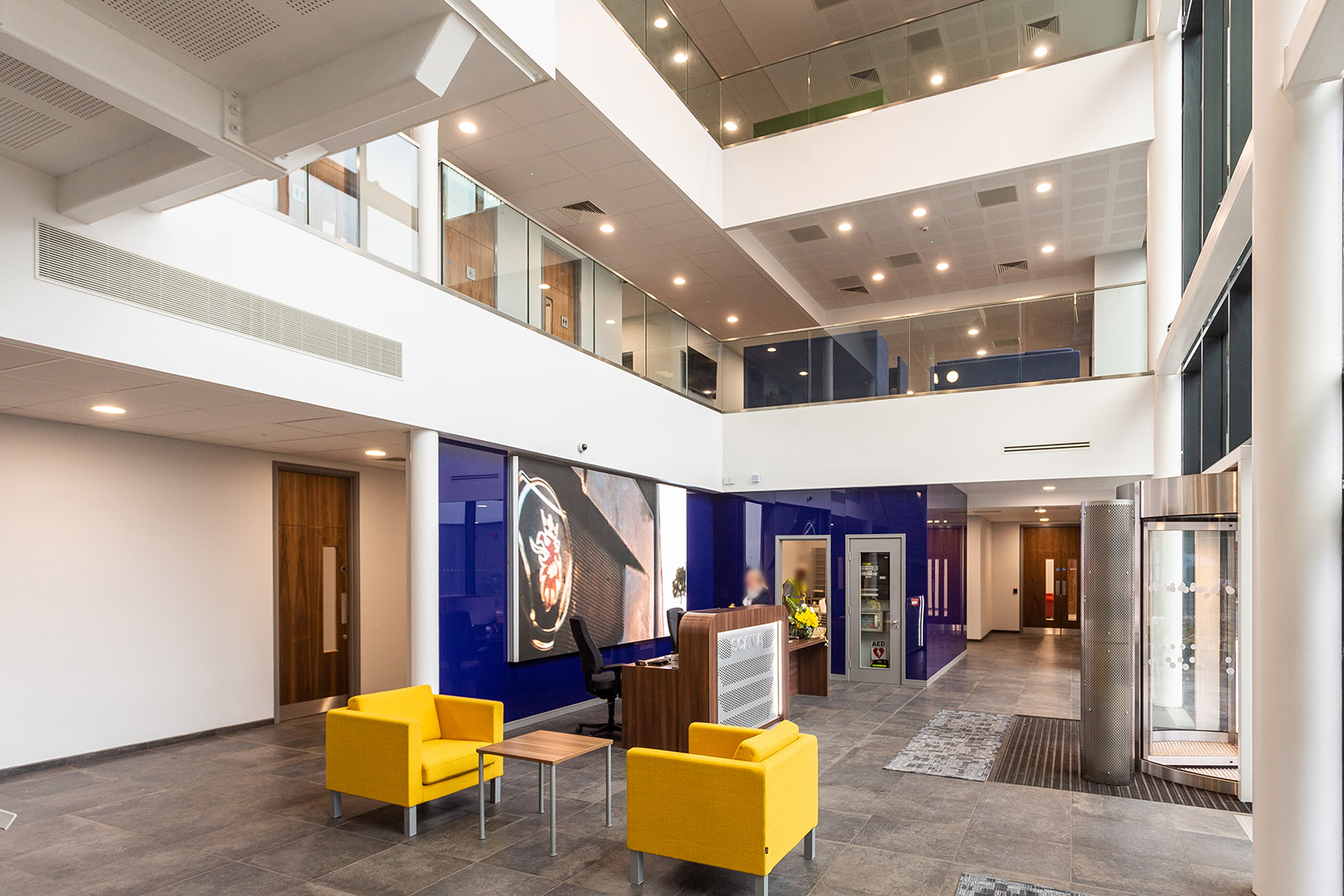 Scania Headquarters | SCL Interiors
