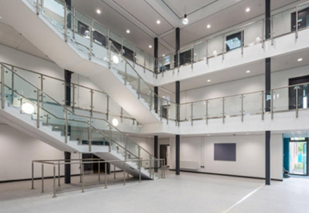 Stowmarket High School project complete