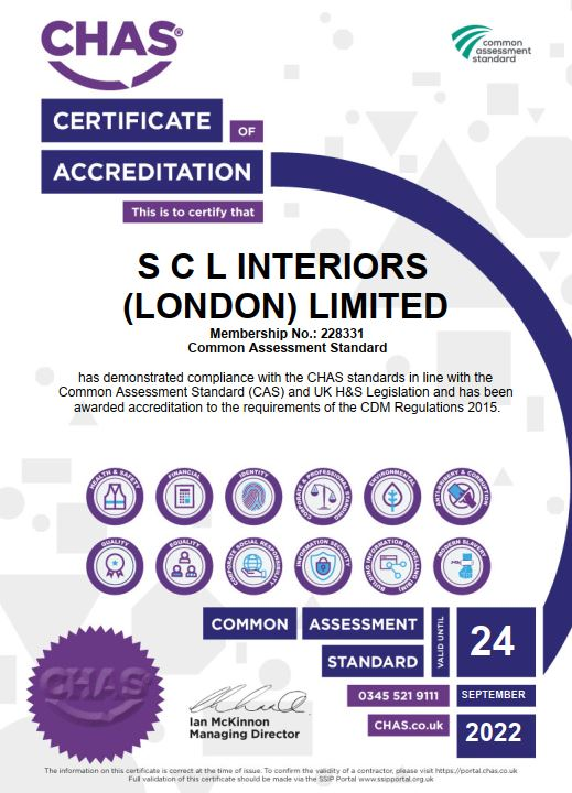 SCL receive CHAS