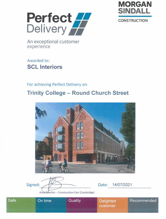 Perfect Delivery: Trinity College