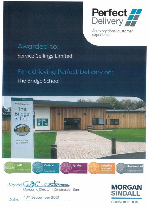 Perfect Delivery: The Bridge School